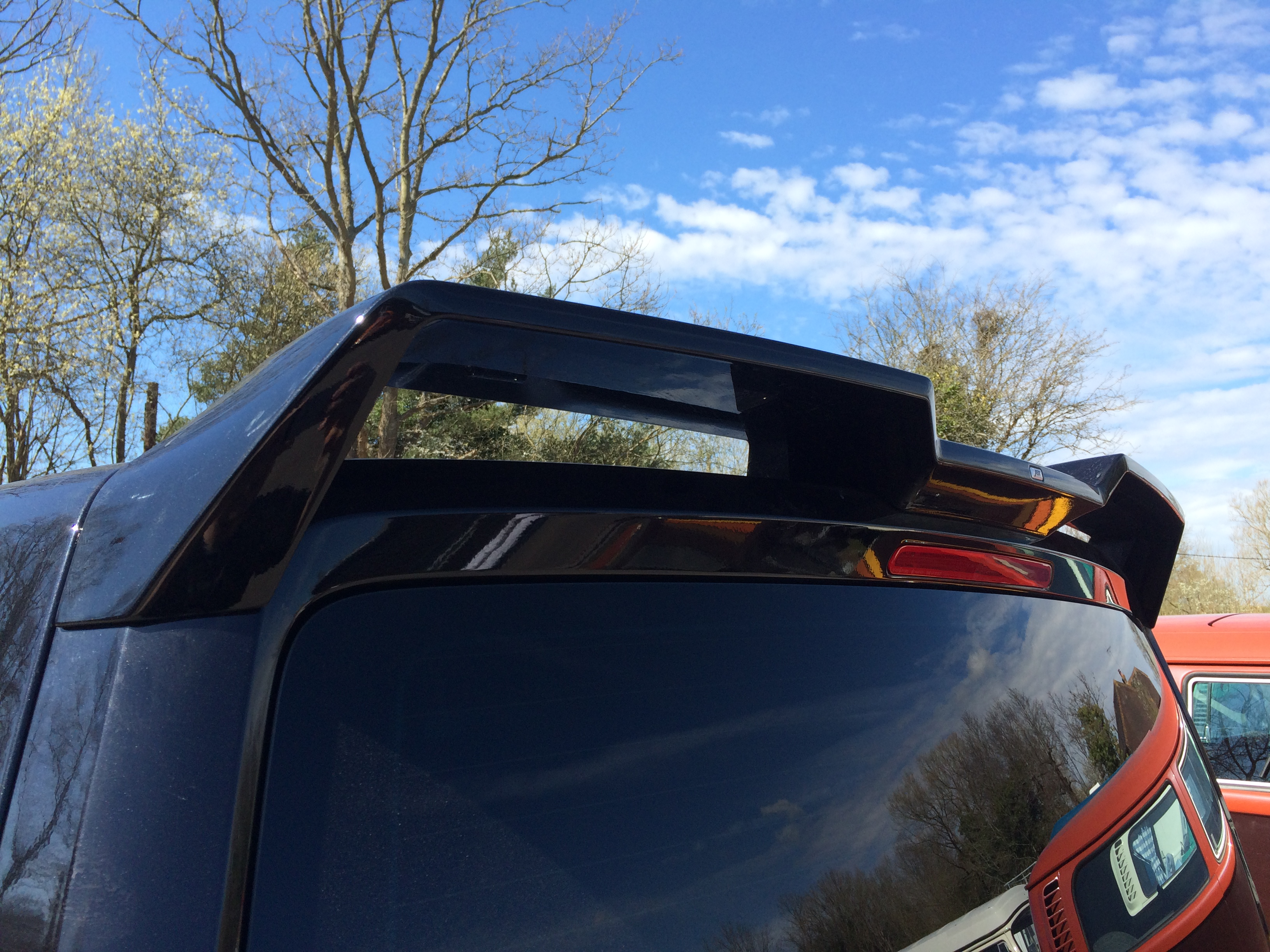 ABT Tailgate Rear Wing Spoiler