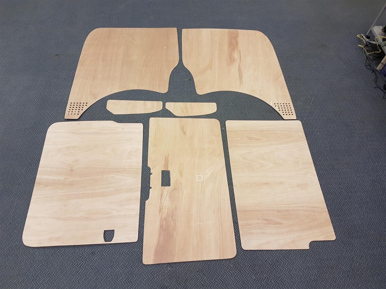 SWB T5 & T6 Plywood kit - Tailgate