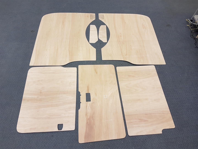 LWB T5 & T6 Plywood kit - Tailgate