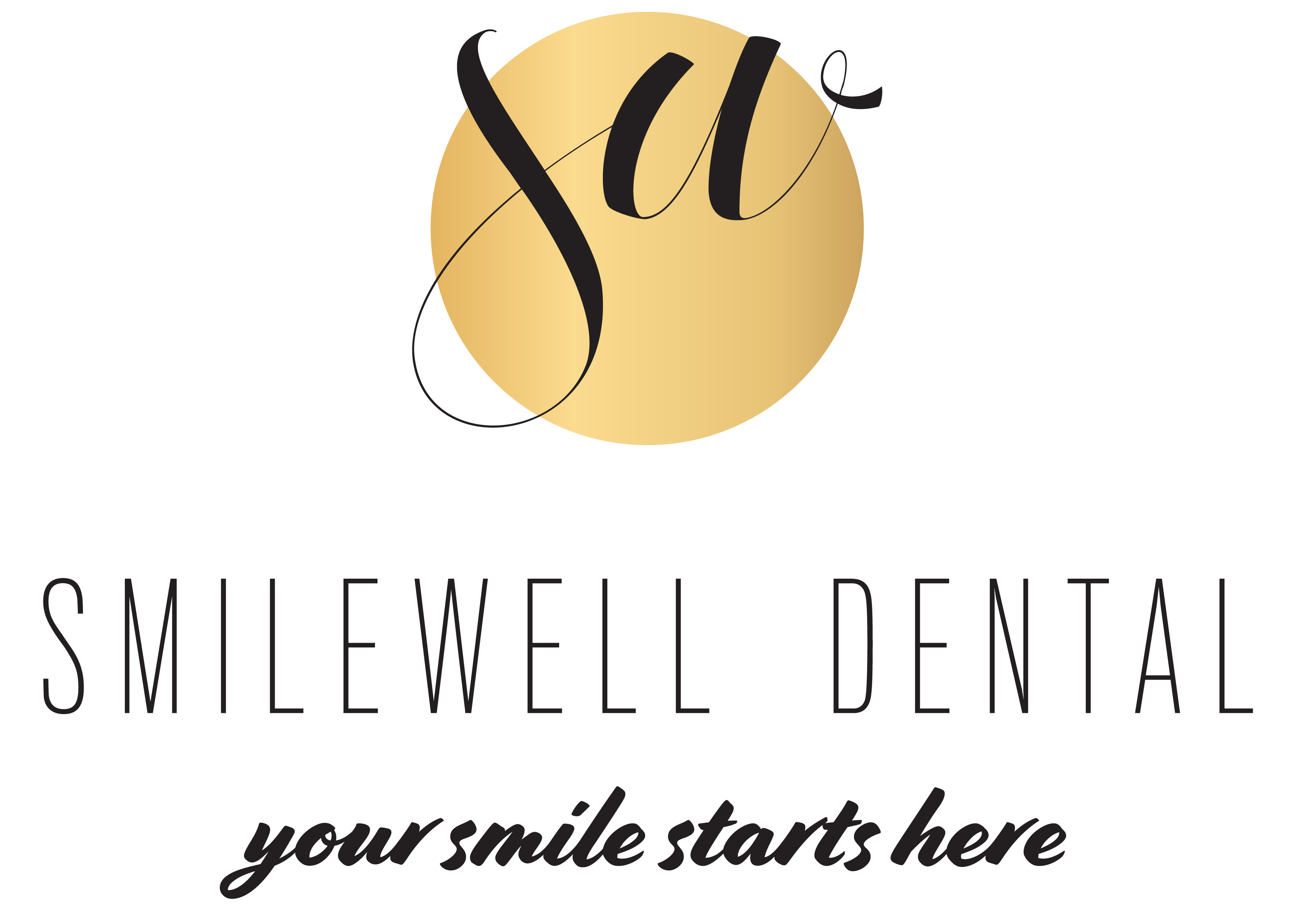 SmileWell Dental logo