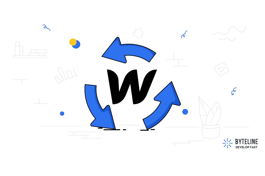 Insert or Update Webflow CMS items using Byteline