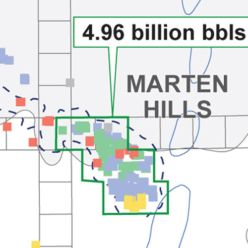 The Marten Hills Clearwater Oil Play: From Open Land to High Demand