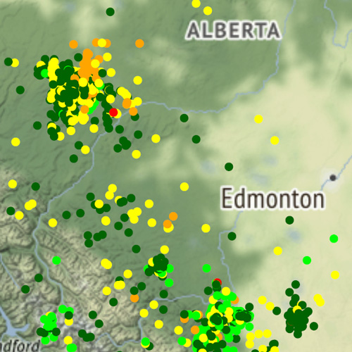 Evolution of Earthquakes in Alberta: The Role of Hydraulic Fracturing and the Possibilities for Risk Mitigation