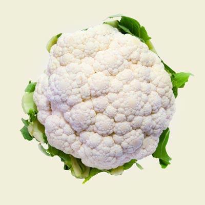 What we harvest: Cauliflower