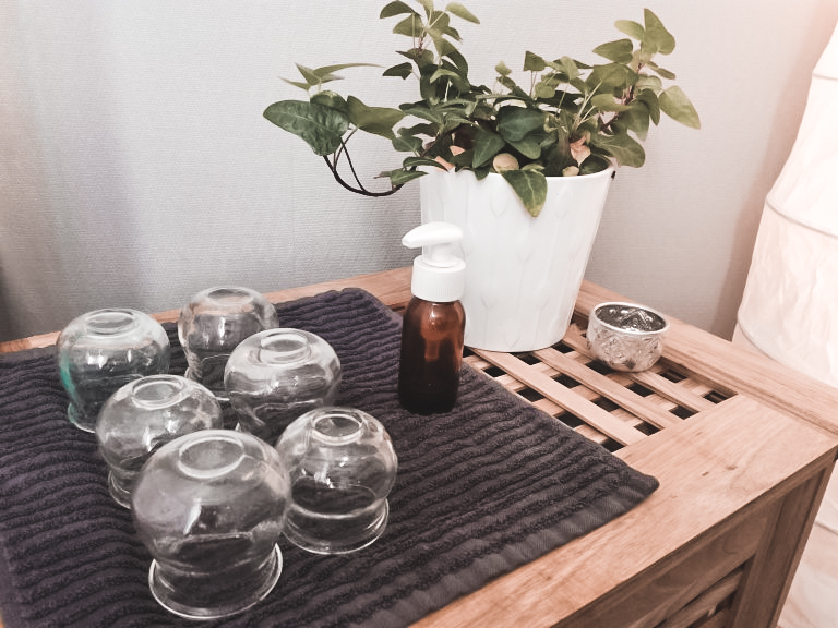 massage relaxant intuitif avec ventouses