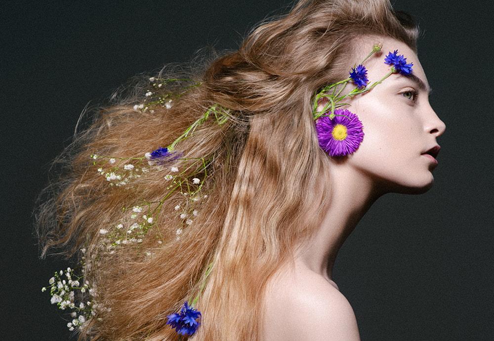 GLORIA GLAM Beauty editorijal
