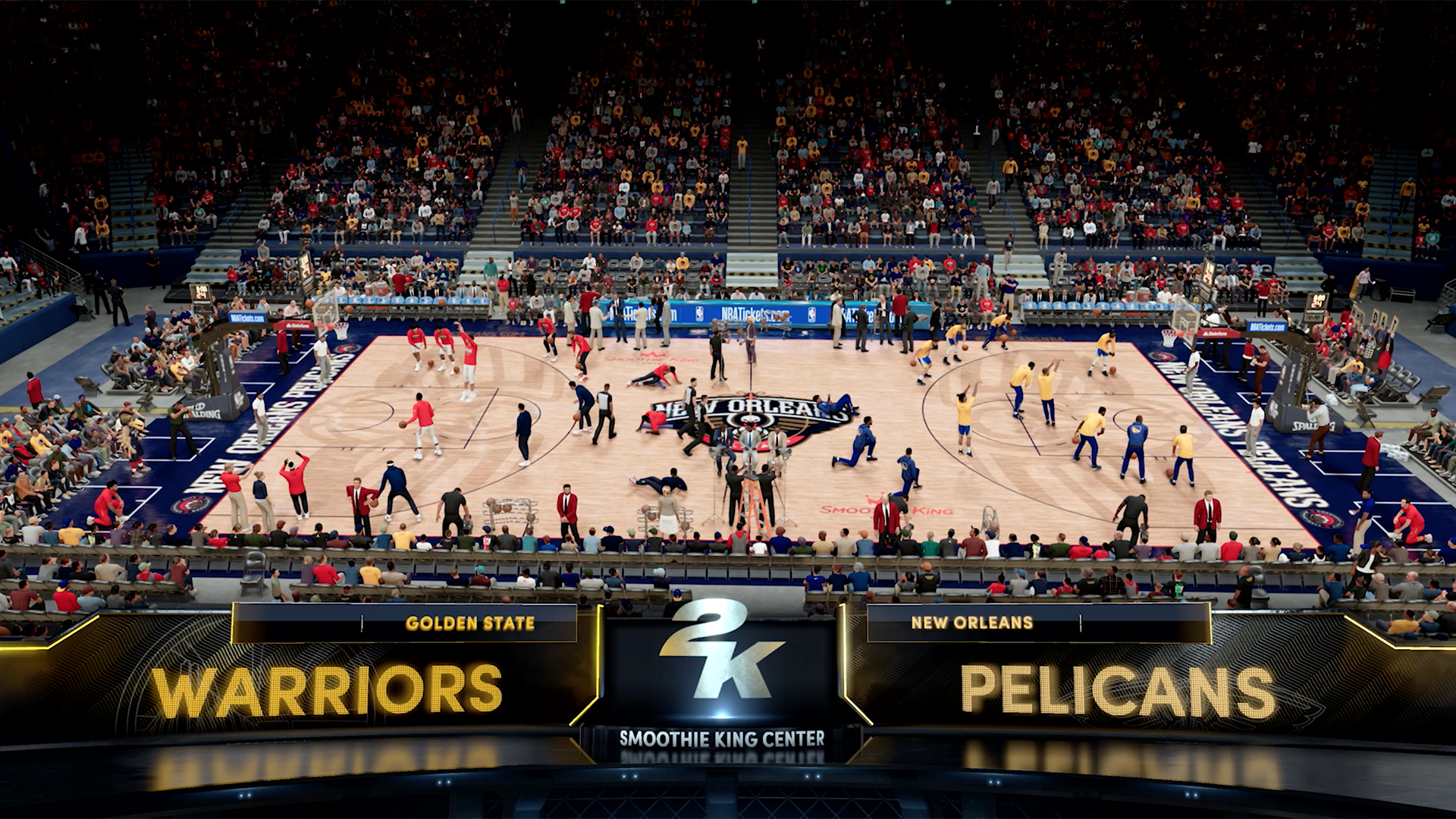"A screenshot from ""NBA 2K21."" Photo courtesy of 2K Entertainment."