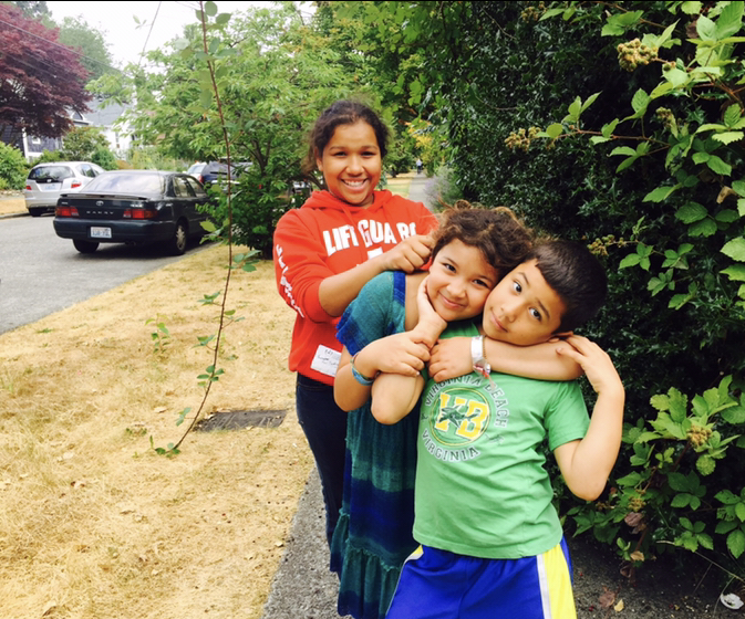 Photo of the author and her siblings. Photo courtesy of the author.