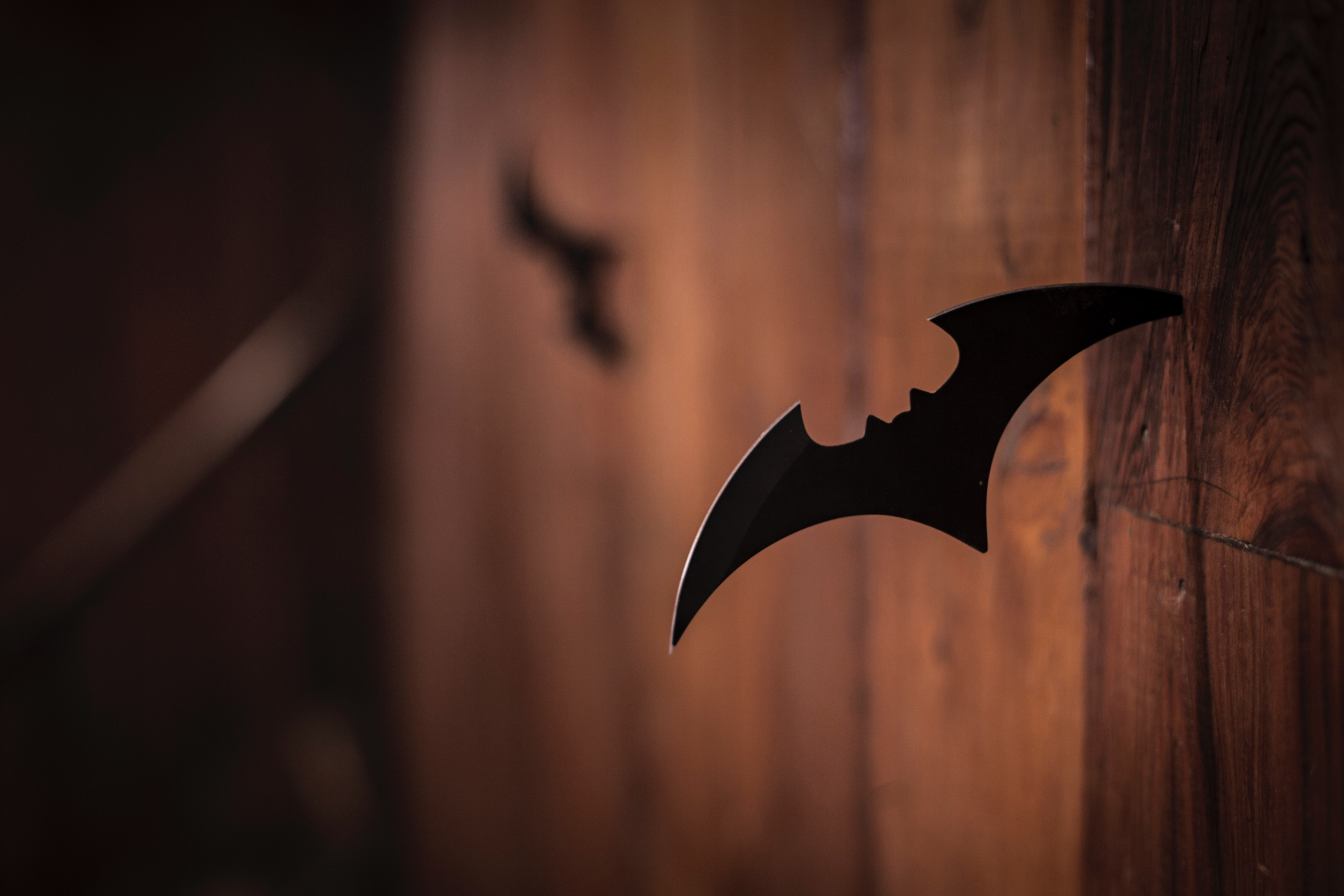 Throwing knife in the shape of a knife. Photo courtesy of AActionVance on Unsplash.