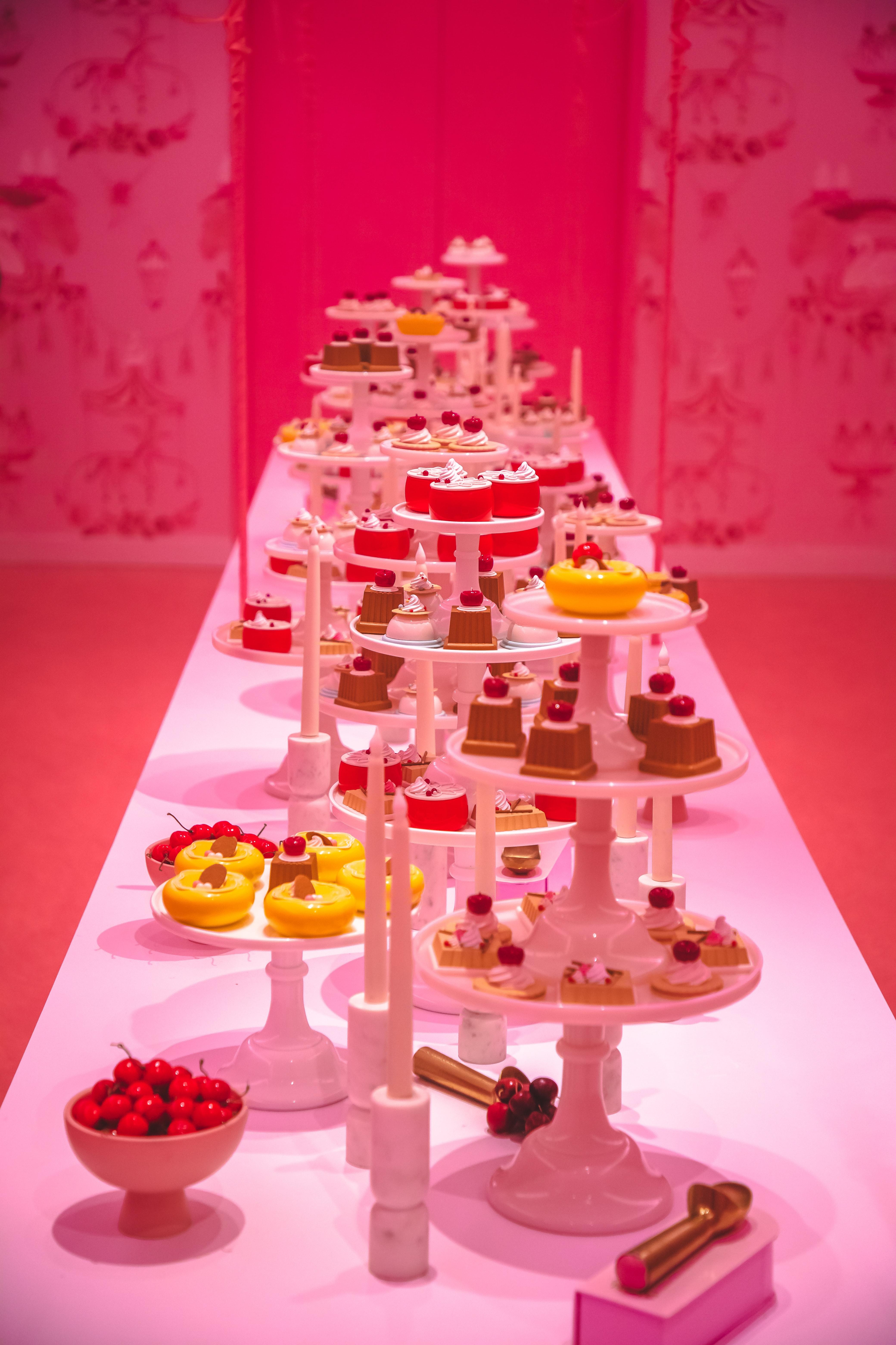 A table full of deserts. Photo courtesy of Branden Skeli on Unsplash.