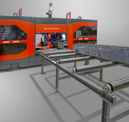 3ADM 10 Axis Three Spindle CNC Drill Line