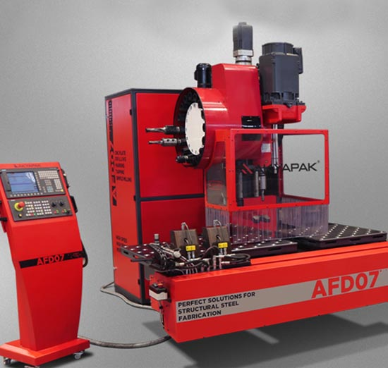 AFD Plate Drilling