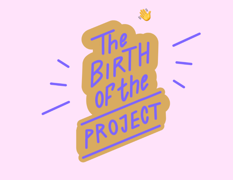 The birth of the project lettering by Keva Epale