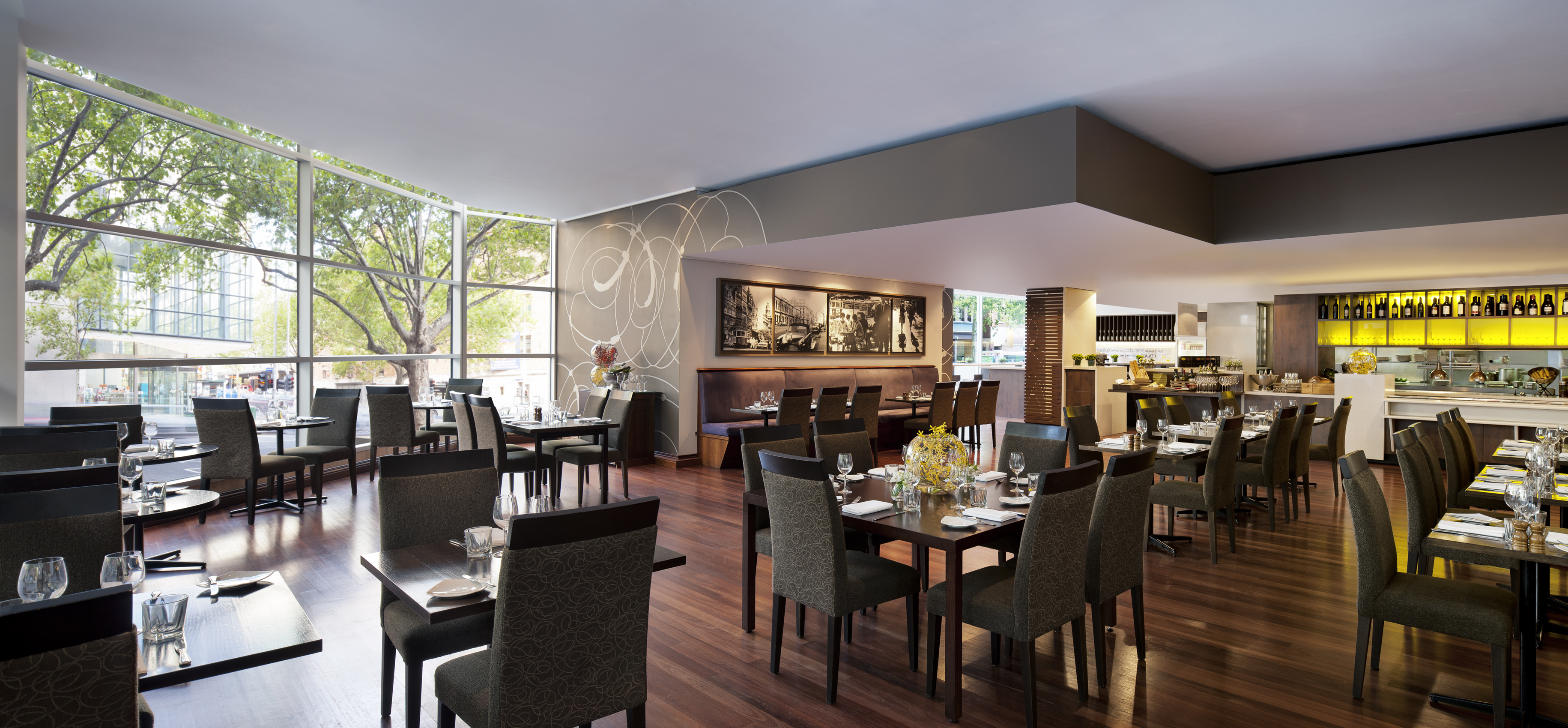 Dining area for Marriott Melbourne