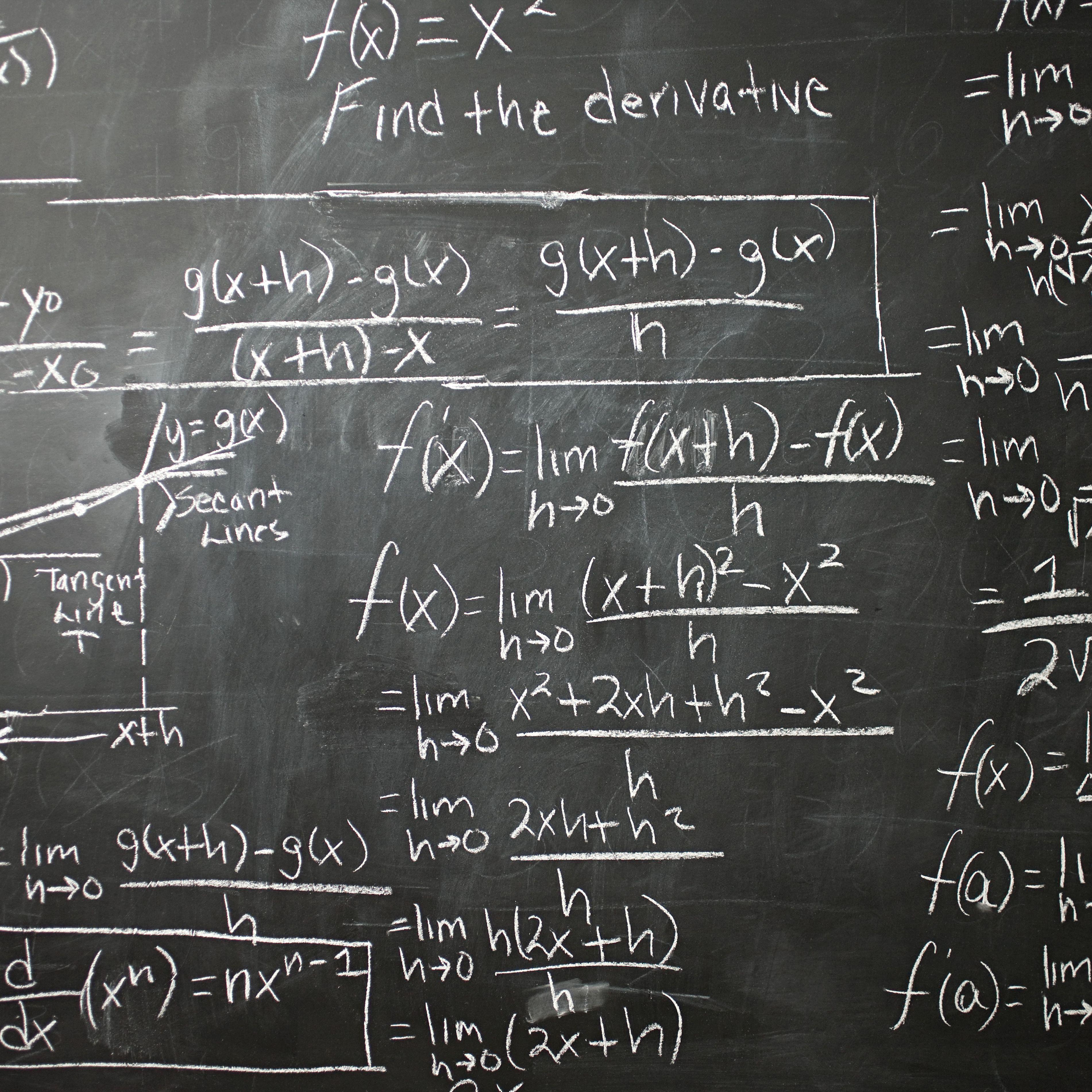 calculus not statistics