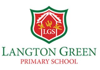 Langton Green school logo