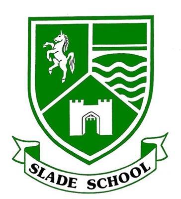 Slade school logo