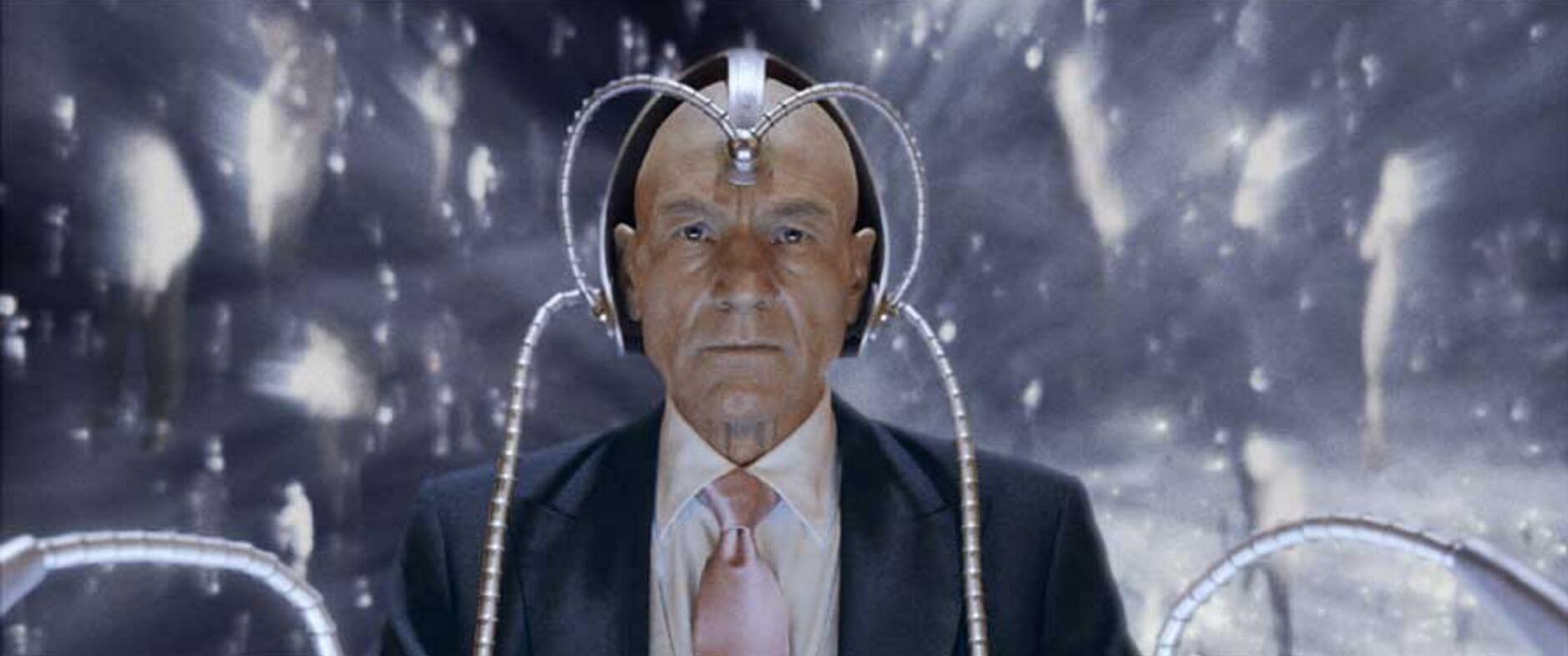 Professor X in Cerebro