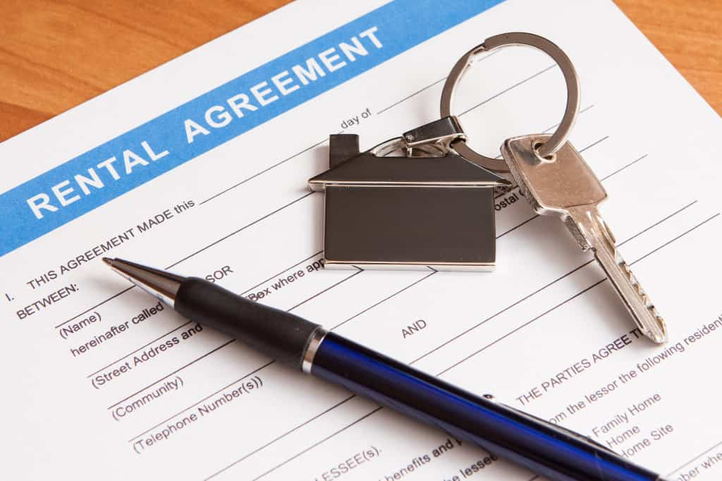 Rental agreement or lease agreement