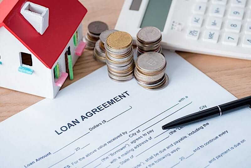 Loan agreement for a pre foreclosure
