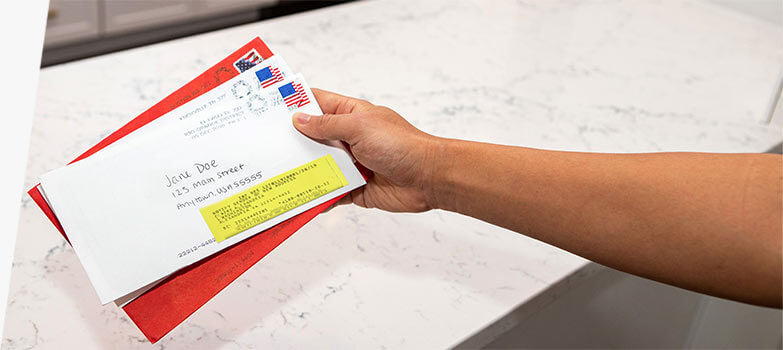 Direct mail campaign for motivated sellers