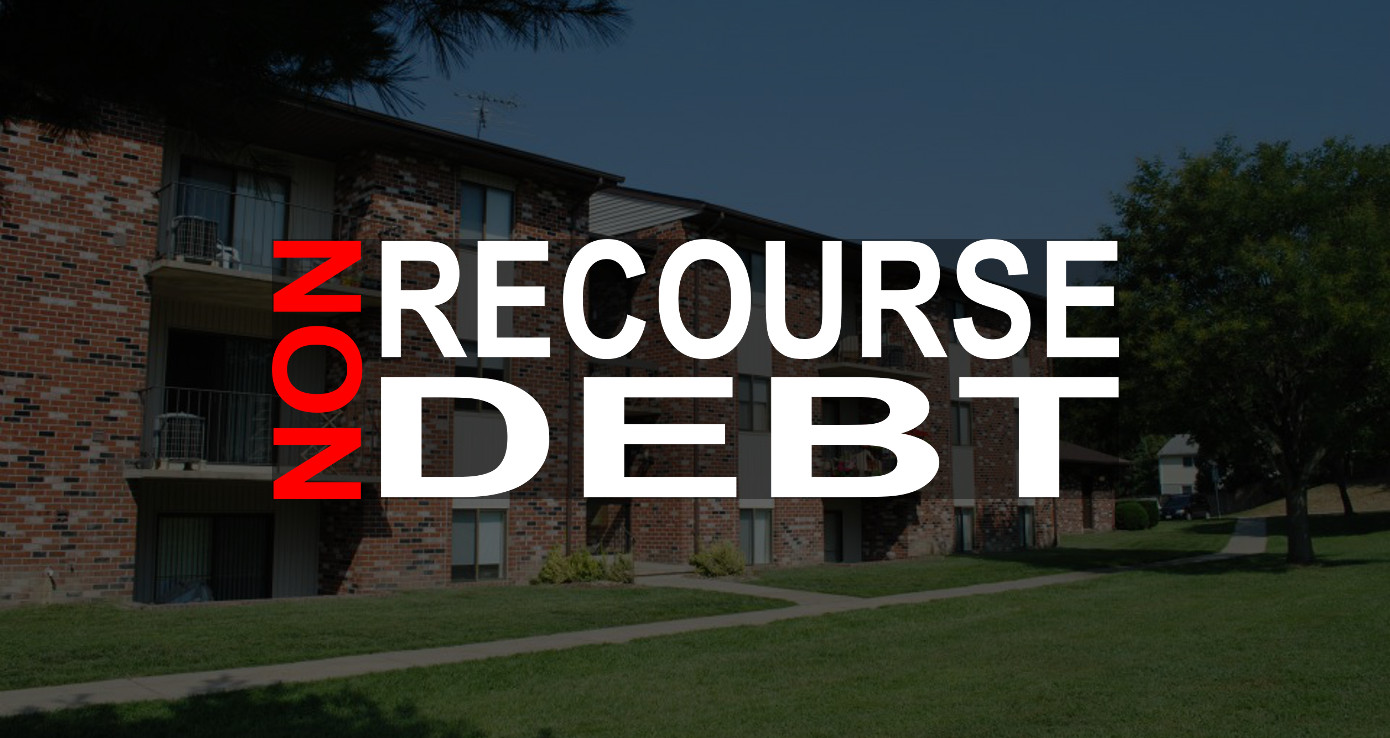 An overview of non-recourse debt, what the term means, why it's significant, and how we use it in our multifamily real estate investing business.