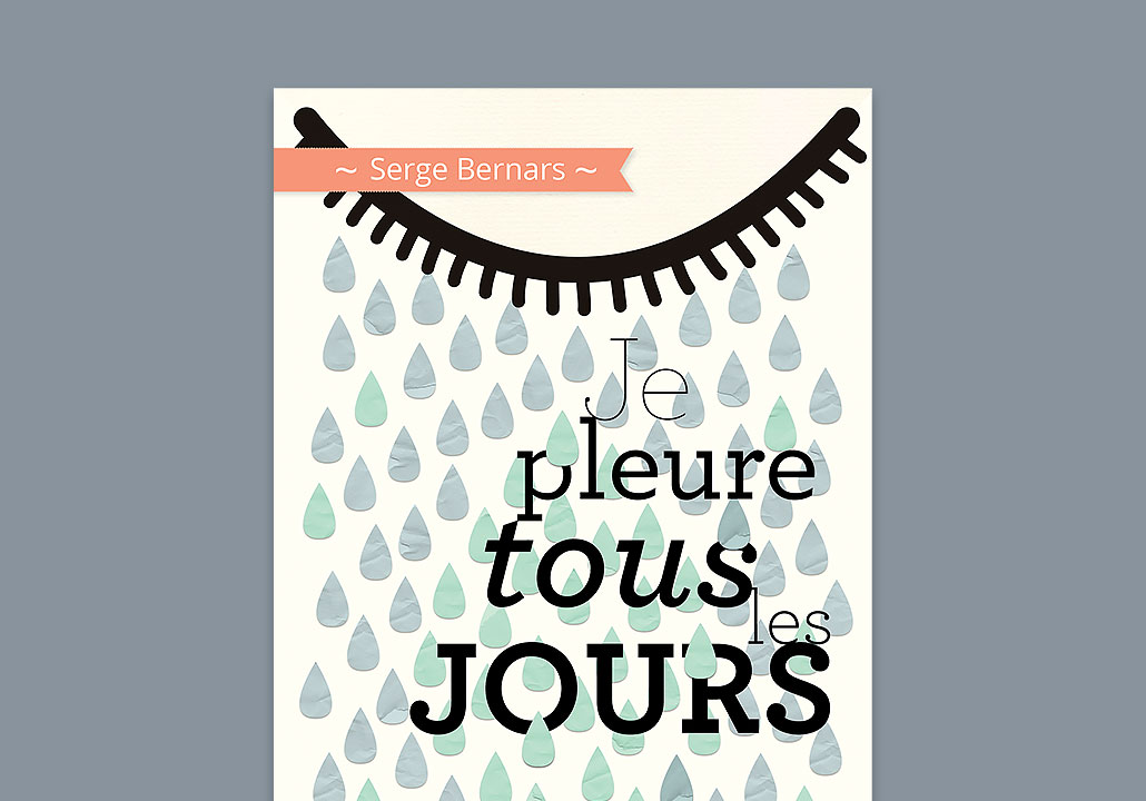 Thumbnail image for the Éditions de la Déprime project, representing an illustrated book cover, on a medium grey background.