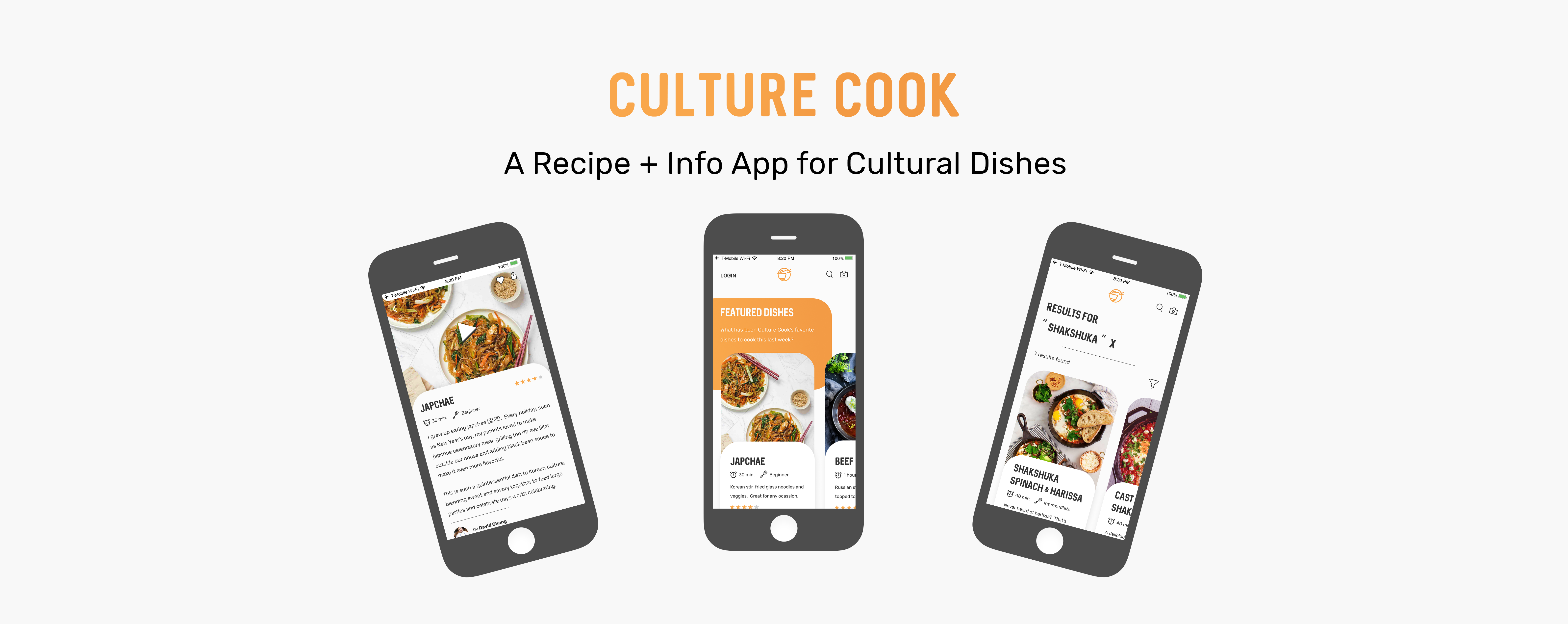 Culture Cook App Overview Banner