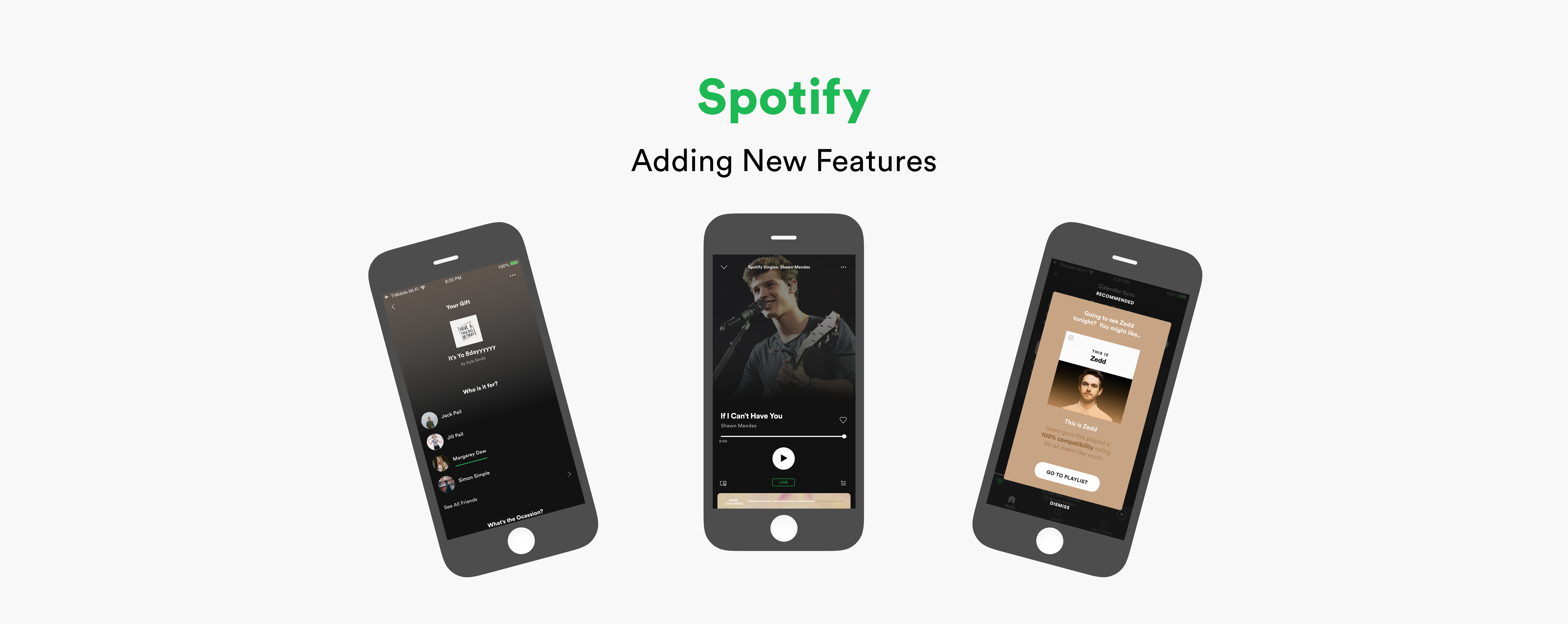Spotify App Overview Banner