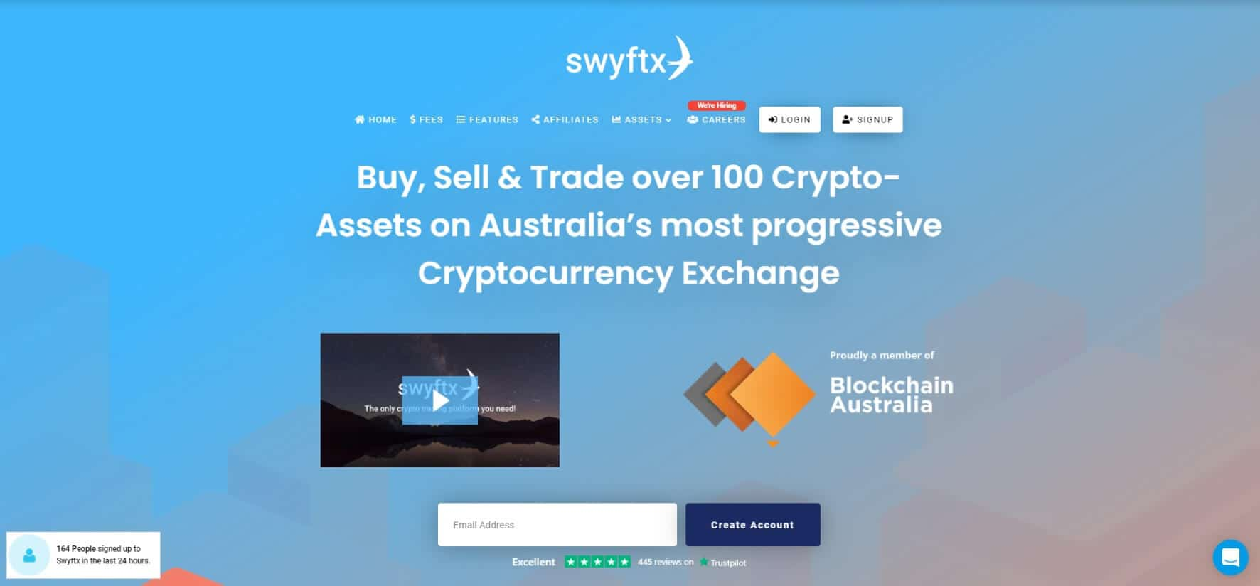 Swyftx Bitcoin Trading Platform