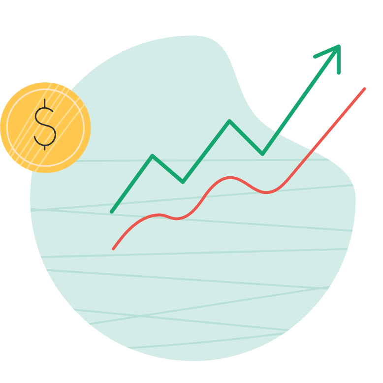 A representation of price and sales modelling