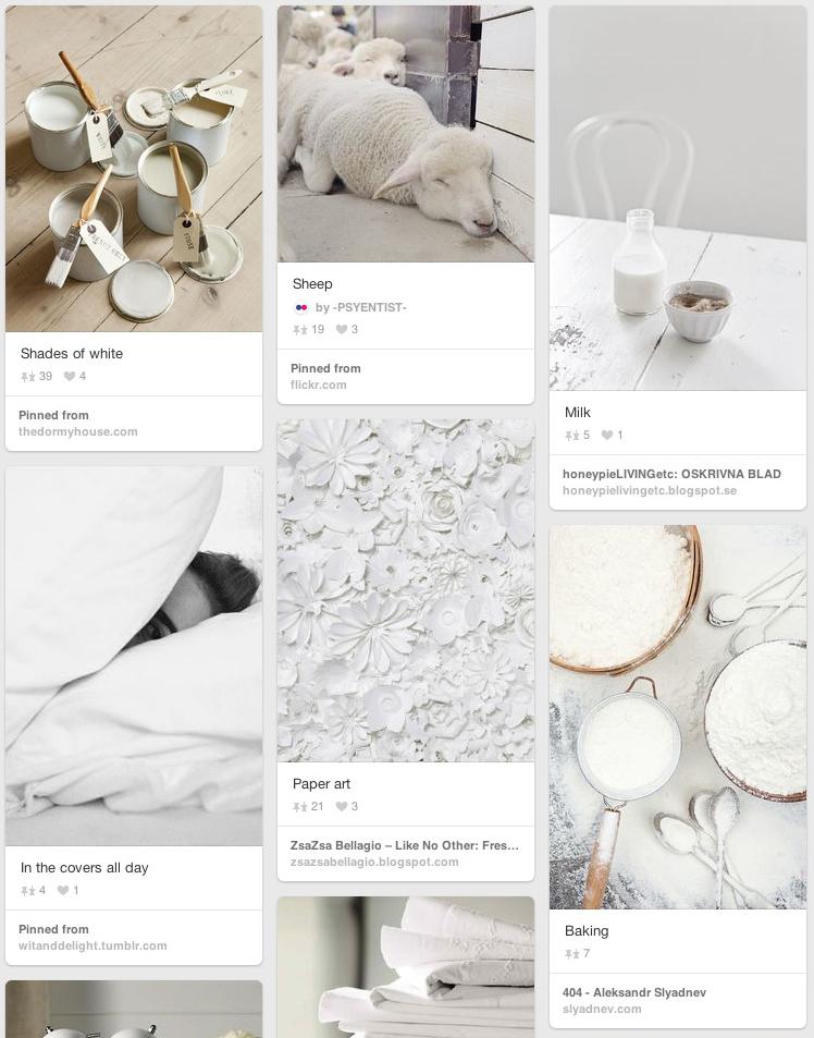 White Company Love of White on Pinterest