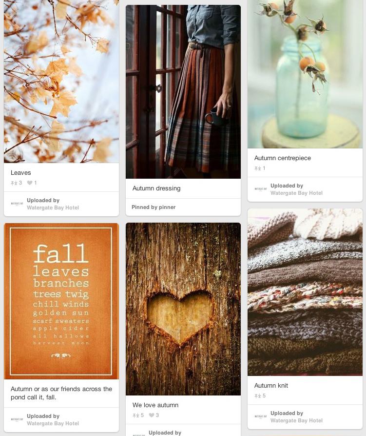 Watergate Bay Autumn Awe Pinterest board