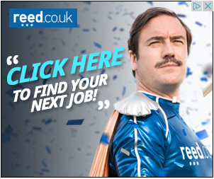 Reed recruitment remarketing ad