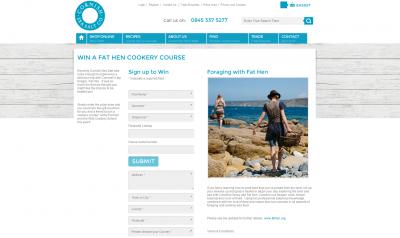 Cornish Sea Salt and Fat Hen campaign