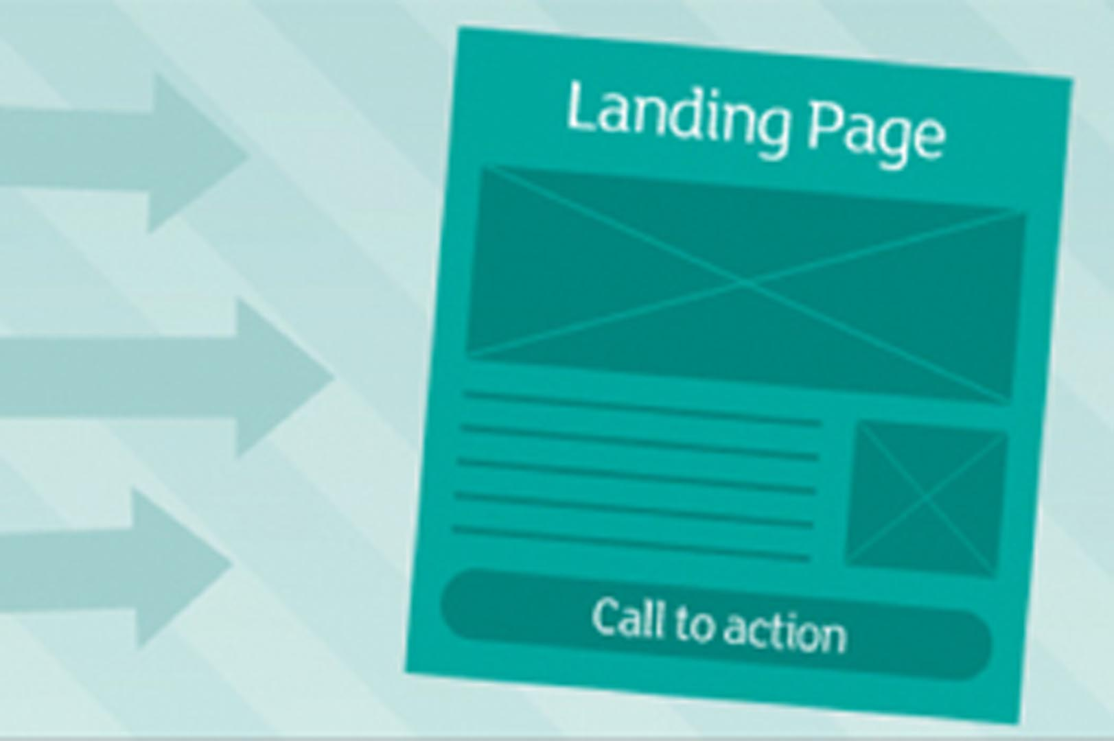 Mind the gap! Landing pages provide the link online