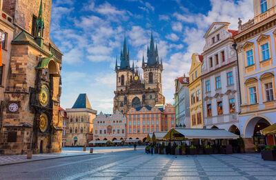 Paris to Prague