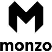 monzo logo black and white