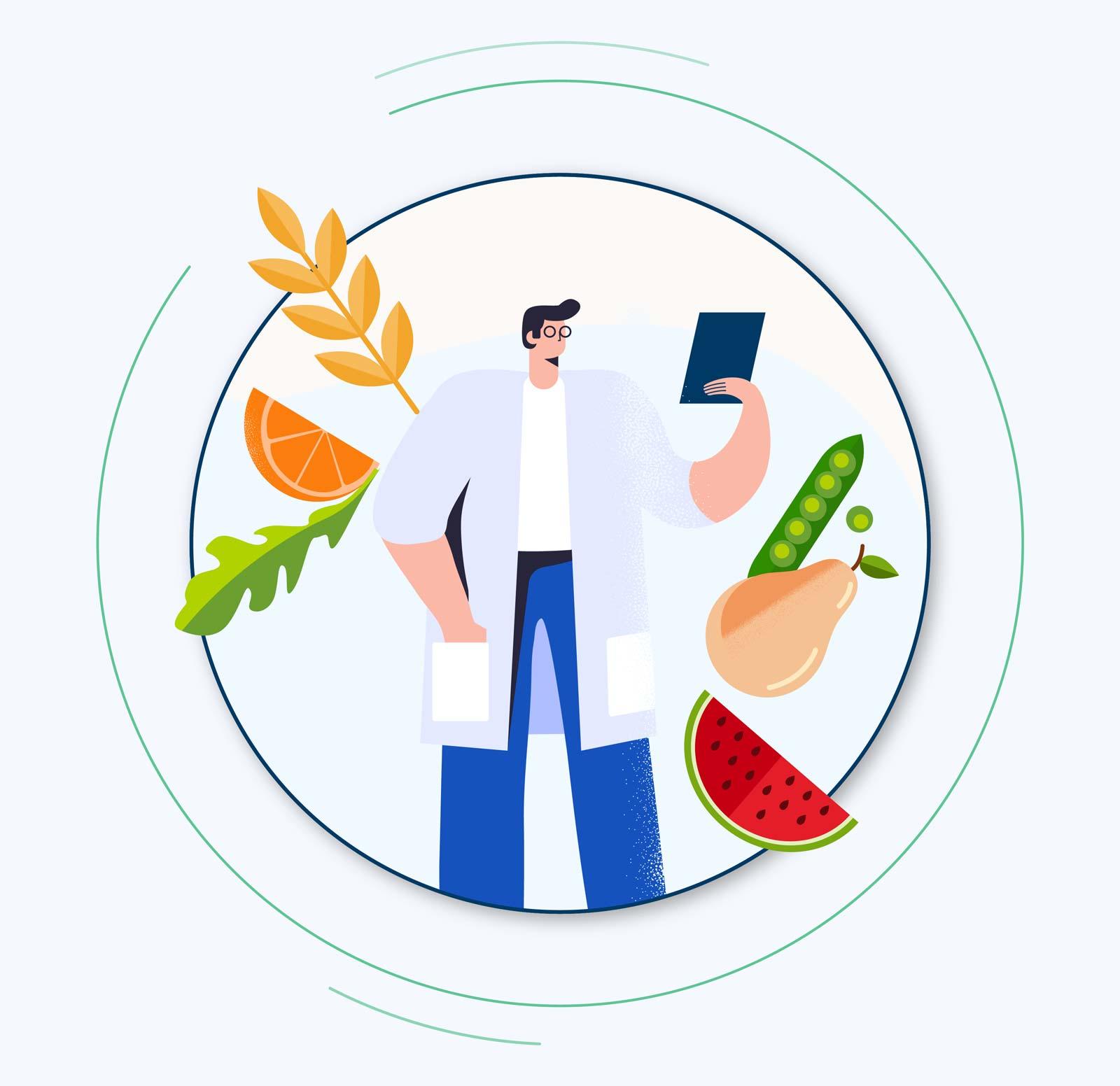 Le parcours nutrition et effets du vieillissement de l'académie MonSenior