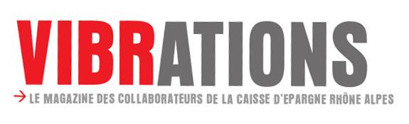 Logo Vibrations magazine