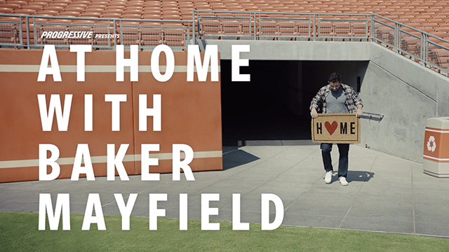 Progressive: Baker Mayfield vs. The Circuit Breaker