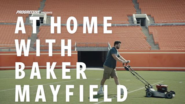 Progressive: Baker Mayfield Gets a Beverage