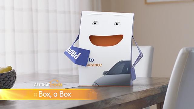 Progressive: Box | Get That House