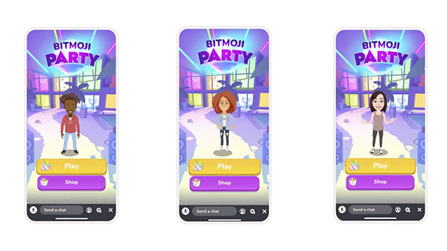 Snap Games | Introducing Bitmoji Party!