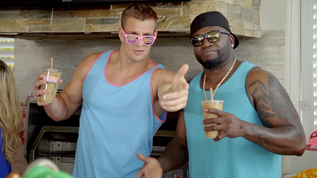 Gronk and Big Papi Dunkin' Paradise