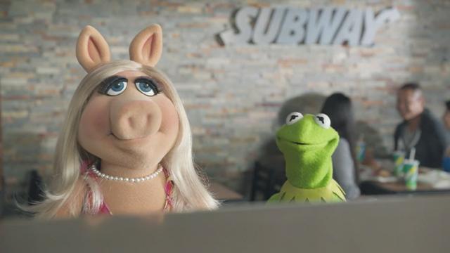Subway: Muppets 'Greens'