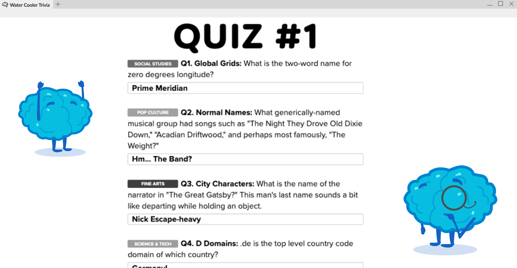 Play Online Trivia with Friends - Quiz Image