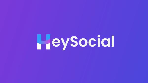 HeySocial banner logo