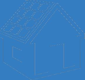 Home solar icon