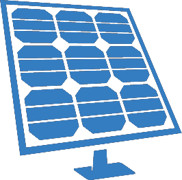 Commercial solar icon